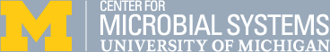 Center for Microbial Systems - University of Michigan logo
